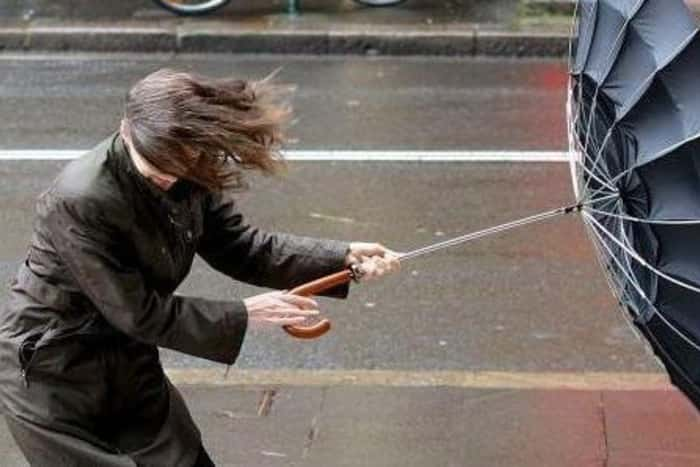 Gust of 80mph are anticipated. Picture: TSPL