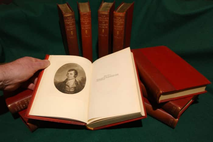 Auld Lang Syne remains one of Robert Burns' best-known works