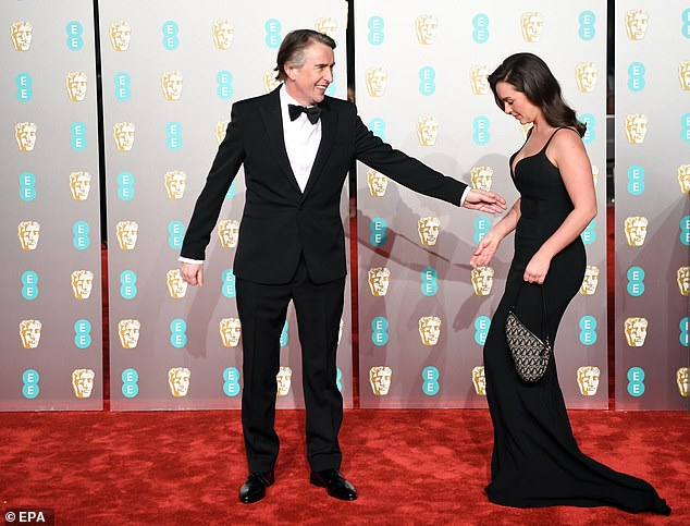 Steve Coogan at BAFTA