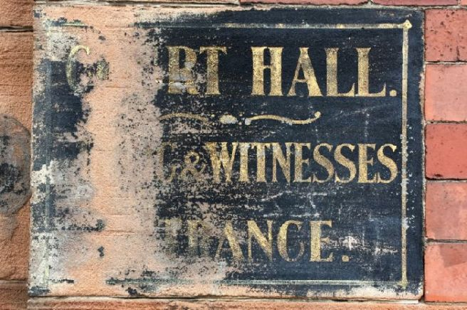 .Ghost Signs of Glasgow is a new project by Glasgow City Heritage Trus. Picture: John Devlin
